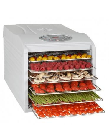 Déshydrateur fruits et légumes 6 plateaux 500w