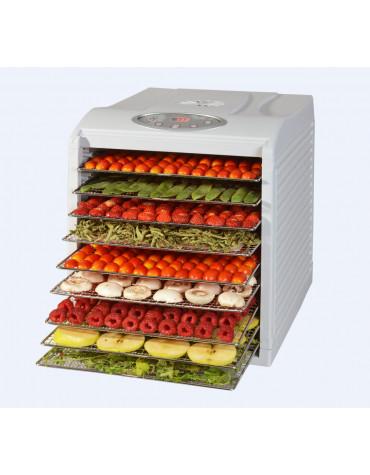 Déshydrateur fruits et légumes 9 plateaux 650w
