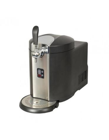 Machine à bière 5l noir/inox