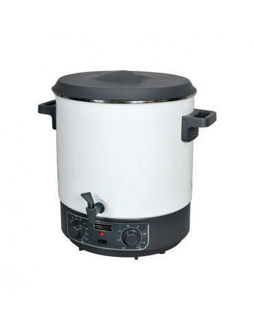 kitchen chef Stérilisateur électrique avec robinet et minuteur 27l 1800w kitchen chef