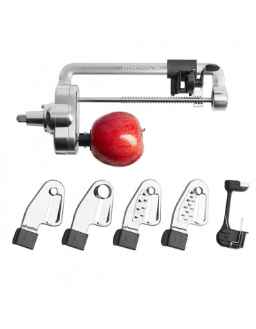 Accessoire taille-légumes en spirales pour robot artisan