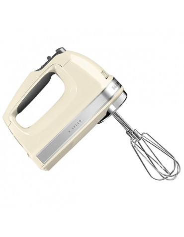 kitchenaid Batteur électrique 9 vitesses 85w crème kitchenaid