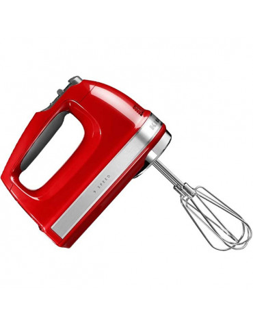 kitchenaid Batteur électrique 9 vitesses 85w rouge empire kitchenaid