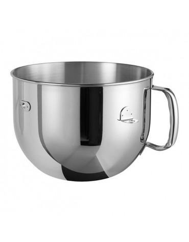 kitchenaid Bol 6.9l inox poli à poignée pour artisan professionnel kitchenaid
