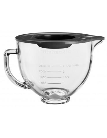 kitchenaid Bol en verre 4.7l pour robot pâtissier kitchenaid