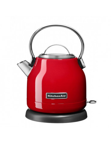 kitchenaid Bouilloire sans fil 1.25l 1500w rouge empire kitchenaid