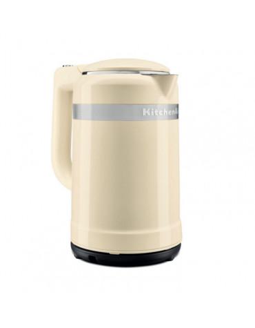 Bouilloire sans fil 1.5l 2400w crème