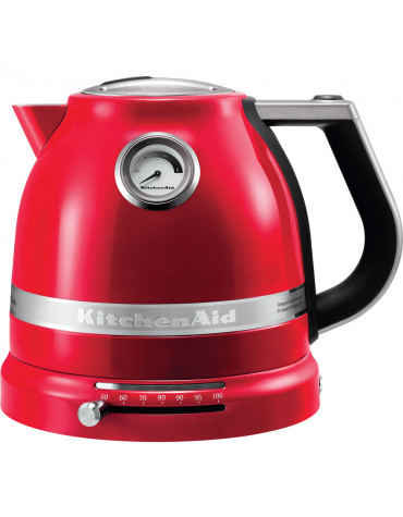 kitchenaid Bouilloire sans fil 1.5l 2400w rouge empire kitchenaid