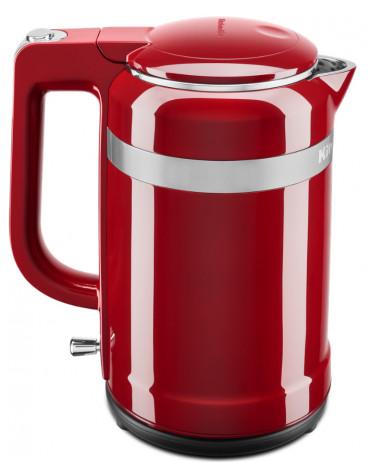 Bouilloire sans fil 1.5l 2400w rouge empire