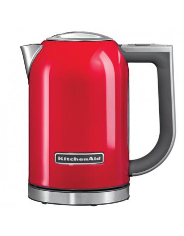 kitchenaid Bouilloire sans fil 1.7l 2400w température réglable rouge empire kitchenaid
