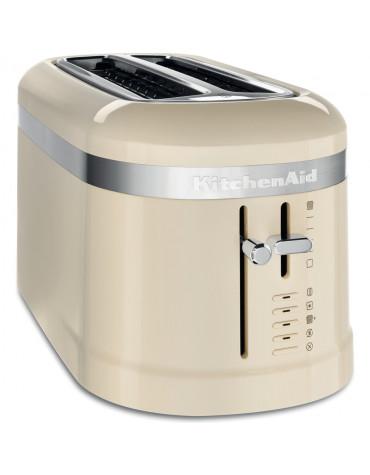 Grille-pain 2 fentes 1500w crème