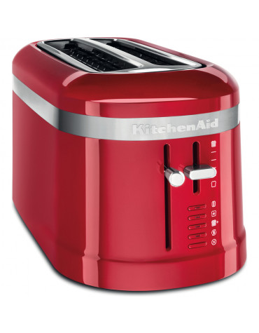 Grille-pain 2 fentes 1500w rouge empire