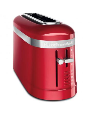 kitchenaid Grille-pain à fente longue 900w rouge empire kitchenaid