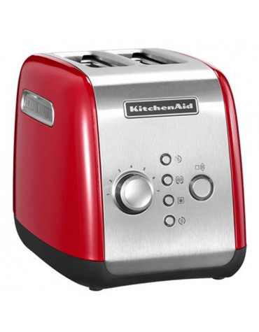 kitchenaid Grille-pains 2 fentes 1100w rouge empire kitchenaid