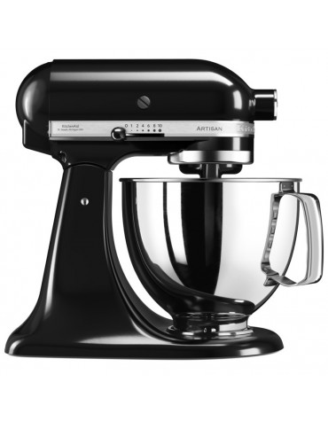 kitchenaid Robot sur socle 4,83l 300w noir onyx kitchenaid