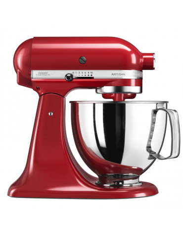 kitchenaid Robot sur socle 4,83l 300w rouge empire kitchenaid