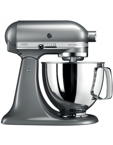kitchenaid Robot sur socle 4,8l 300w gris argent kitchenaid
