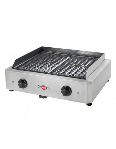 krampouz Barbecue électrique posable 2x1700w krampouz