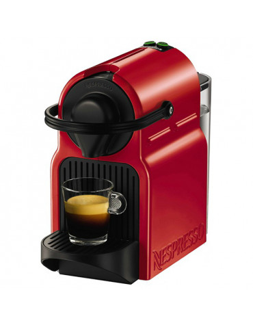 Cafetière nespresso automatique 19 bars rouge