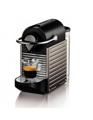 Cafetière nespresso automatique 19 bars titane