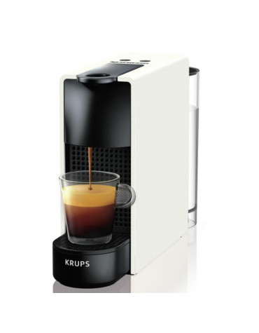 Cafetière nespresso automatique 19bars blanc