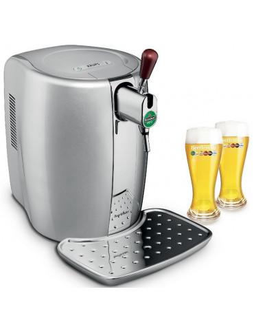 Machine à bière 5l silver avec coffret 2 verres