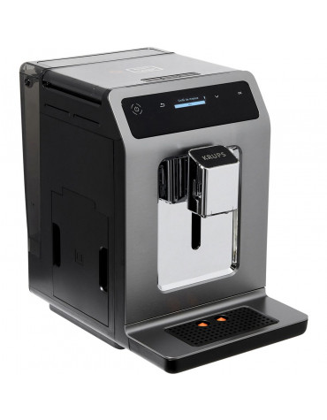 Robot café 15bars titane + pot à lait inox
