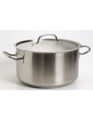 lacor Braisiere chef inox 36cm + couvercle lacor