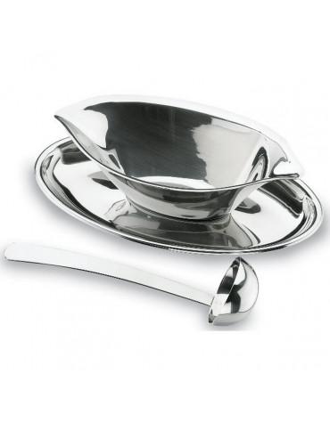 lacor Saucière inox 0.2l avec cuillère lacor