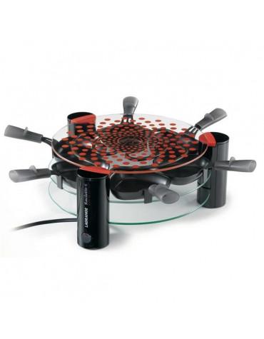 lagrange Appareil à raclette + grill sur verre 6 personnes 900w lagrange