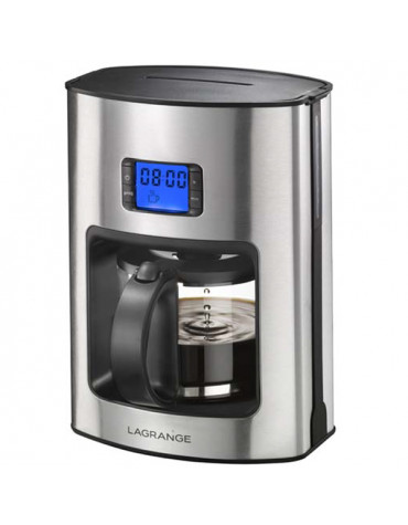 lagrange Cafetière filtre programmable 12 tasses 1000w lagrange