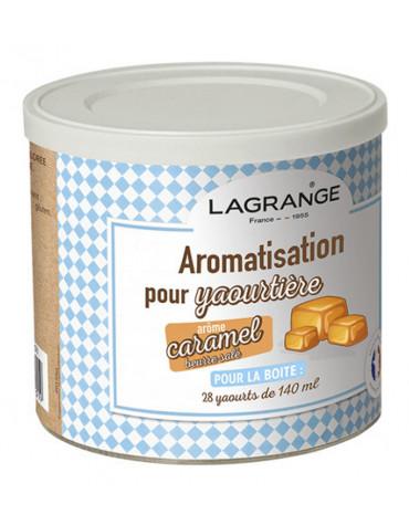 lagrange Pot de 425g arome caramel beurre salé pour yaourtière lagrange