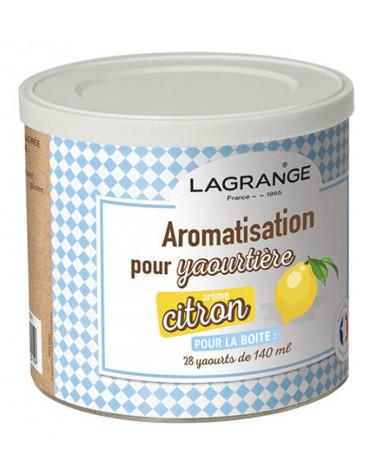 lagrange Pot de 425g arome citron pour yaourtière lagrange