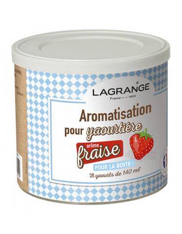 lagrange Pot de 425g arome fraise pour yaourtière lagrange
