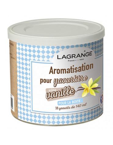 lagrange Pot de 425g arome vanille pour yaourtière lagrange
