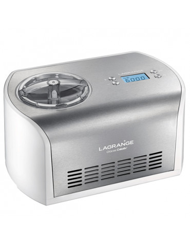lagrange Turbine à glaces 1.2l 135w inox lagrange
