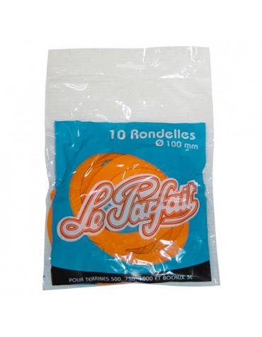 le parfait Lot de 10 rondelles caoutchouc pour bocaux en verre 10cm le parfait