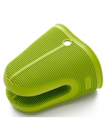 lekue Gant/pince vert silicone lekue