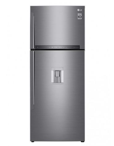 Réfrigérateur 2 portes 70cm 438l a++ nofrost inox