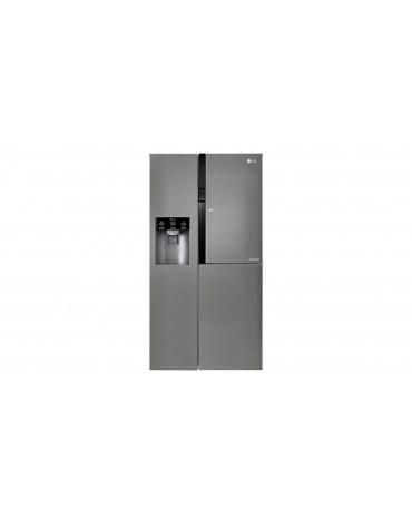 lg Réfrigérateur américain 91cm 591l a+ nofrost inox lg