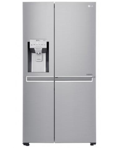 Réfrigérateur américain 91cm 601l a++ no frost inox