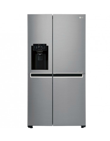Réfrigérateur américain 91cm 601l a+ no frost inox