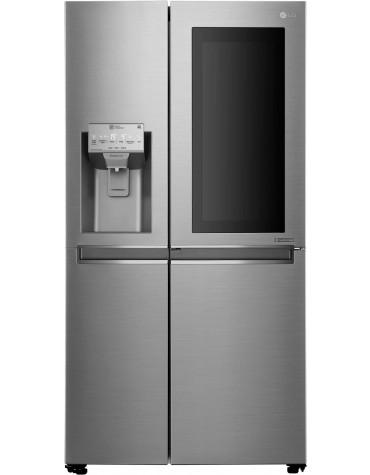 lg Réfrigérateur américain 91cm 601l a++ nofrost platinium lg