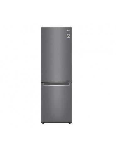 Réfrigérateur combiné 60cm 341l a++ nofrost graphite
