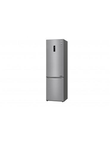 Réfrigérateur combiné 60cm 384l a+++ nofrost platinium