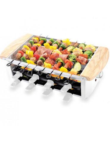 little balance Appareil à raclette 8 personnes 1200w + gril + brochette little balance