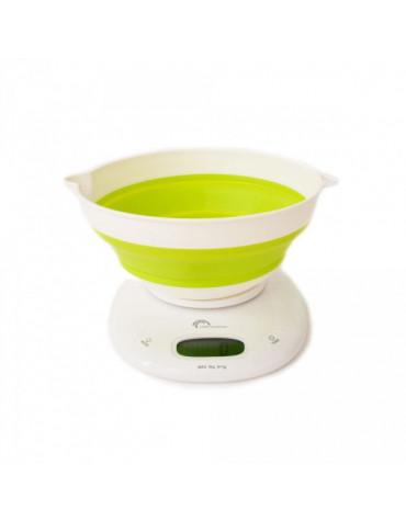 little balance Balance de cuisine électronique 5kg - 1g vert anis little balance