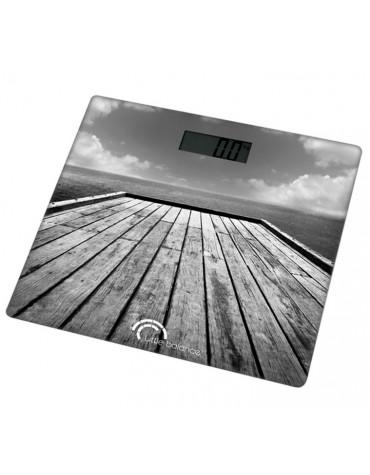 little balance Pèse-personne électronique 180kg/100g gris little balance