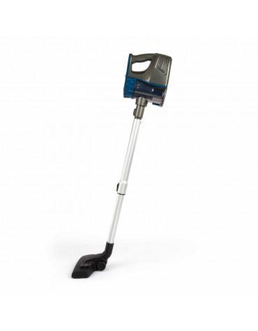 Aspirateur balai rechargeable 2en1 22.2v bleu/gris