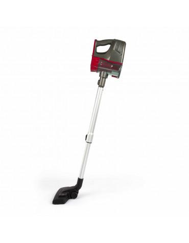 Aspirateur balai rechargeable 2en1 22.2v rouge/gris